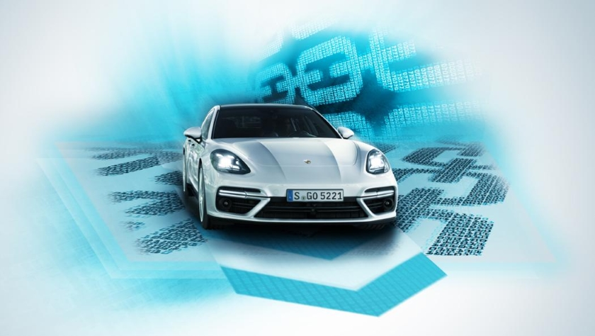 Porsche-blockchain