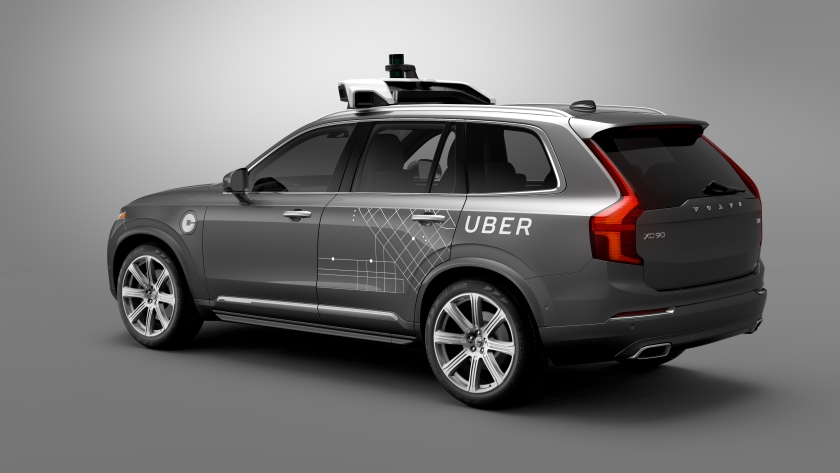 UBER selfdriving car