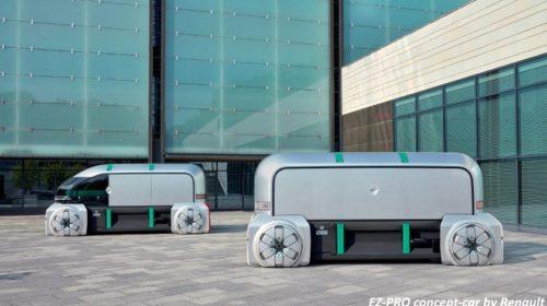 Renault unveils autonomous concierge concept for last mile delivery