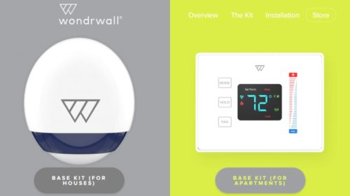 Wondrwall makes smart homes autonomous with sensor arrays