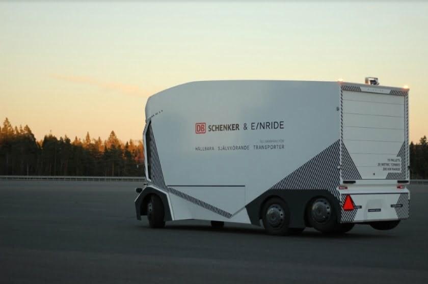 Ericsson Einride Telia self-driving truck