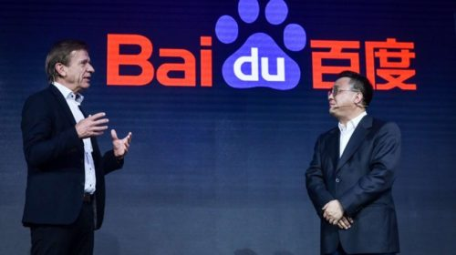 Volvo and Baidu partner on autonomous taxi project