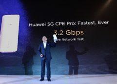 Huawei 5G CPE Pro launch