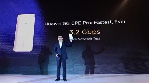 5G multi-mode chipset and 5G CPE Pro launched by Huawei
