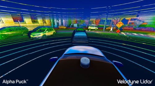Velodyne highlights advanced lidar sensor technology at the automated vehicle symposium
