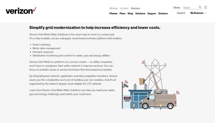 Grid Wide Utility Services Intelligent Energy platform
