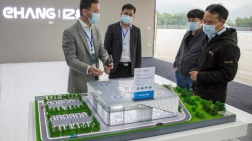 EHang to build world's first e-port in China