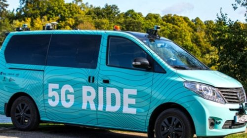 5G autonomous electric vehicle trial launched in Stockholm