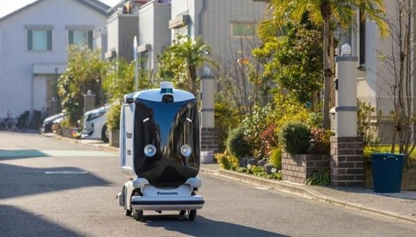 robotic postman