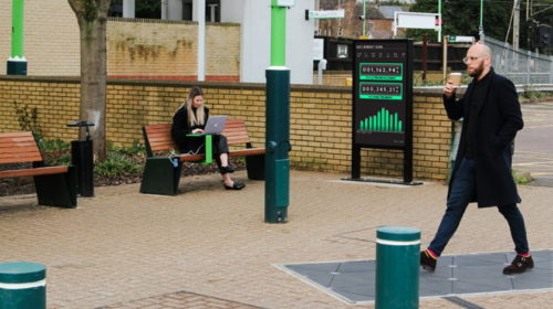 UK train station harvests kinetic energy from commuters' footsteps