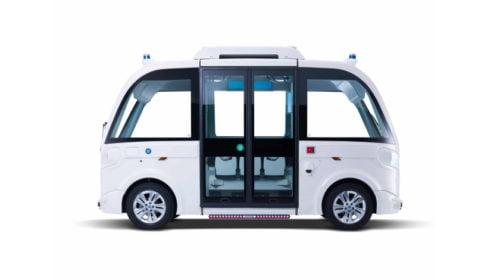 Driverless passenger shuttle launched in Paris Ile-de-France