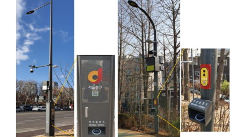 Seoul's smart poles to charge EVs and drones