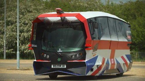 Cambridge launches autonomous passenger shuttle trial