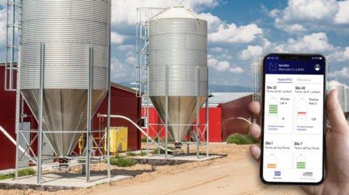 Agri silo monitoring digitised by Nanolike for optimum efficiency using 0G network